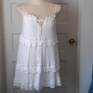 Short summer dress or bathing suit cover